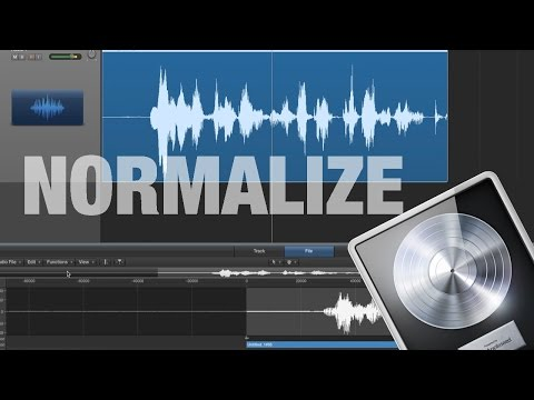 How to Normalize Audio in Logic Pro X