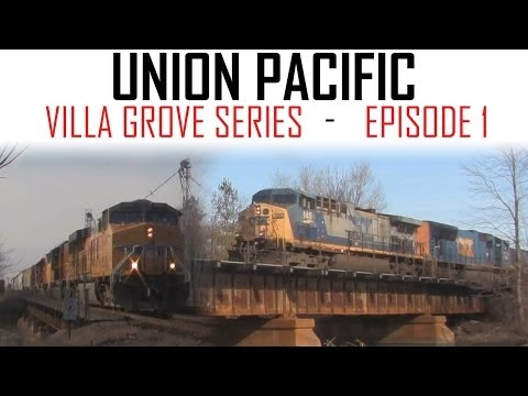 UP Villa Grove - Busy Moving Freight - Episode 1