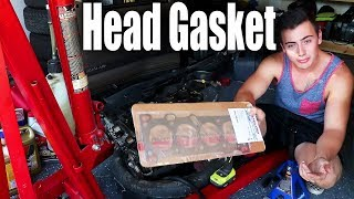 Fixing our blown engine Attempt 1| Head Gasket Install