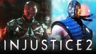 Injustice 2: ALL Premier Skins LEAKED w/ Sub-Zero DLC & Red Hood? (Injustice: Gods Among Us 2)