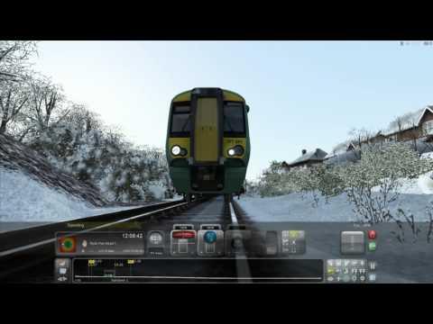 Train Sim 2017 | RACES |