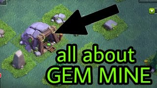 clash of clans GEM MINE all you need to know