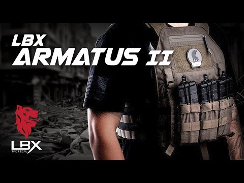The LBX Armatus II.  Making Plate Carriers Great Again! - RedWolf Airsoft RWTV