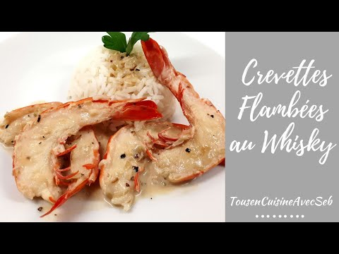 shrimps-flambed-at-whiskey-(allcookingwithseb)