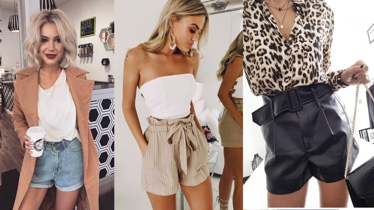 OUTFITS CON SHORTS  2020/21 / OUTFITS PARA CHICAS