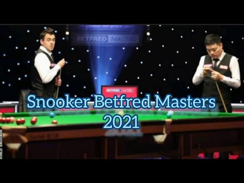 Ronnie O Sullivan Vs Ding Snooker Betfred Masters 2021 Youtube
