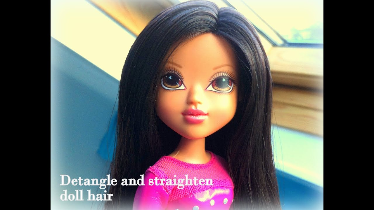 how to stop synthetic hair from tangling