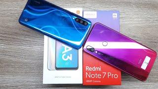 Xiaomi Mi A3 vs Redmi Note 7 Pro - Which Should You Buy ?