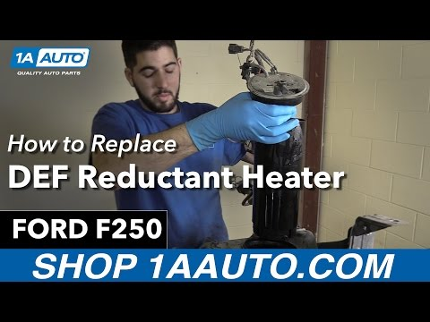 How to Replace DEF Reductant Heater 11-15 Ford F250 Diesel