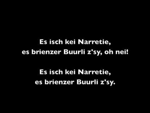 Trauffer Brienzer Buurli Karaoke Instrumental