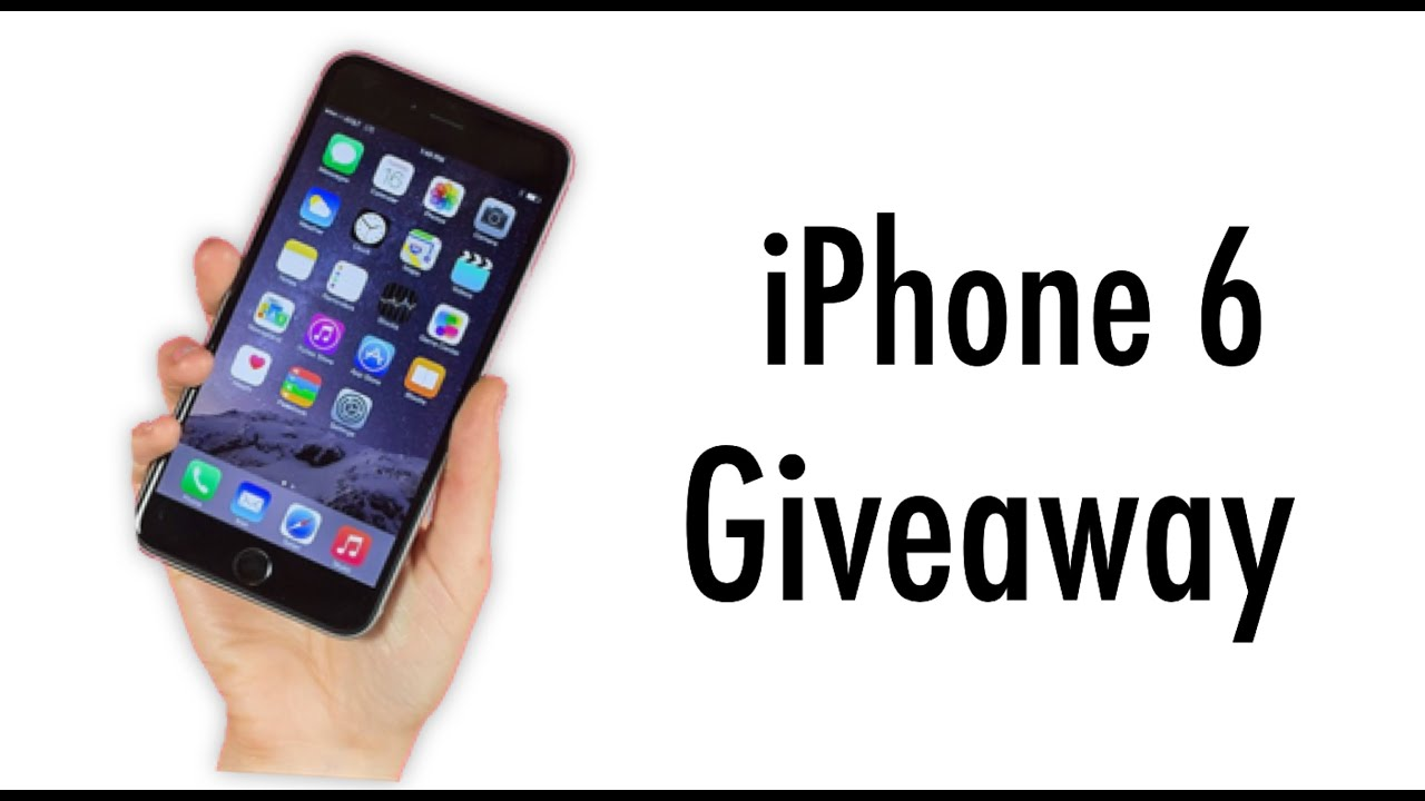 giveaway iphone 6 iphone 6 international giveaway youtube 818