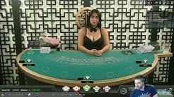 This blackjack dealer knows how to flirt