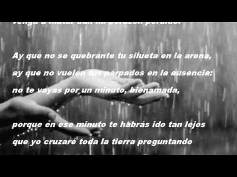 Pablo Neruda Soneto 45