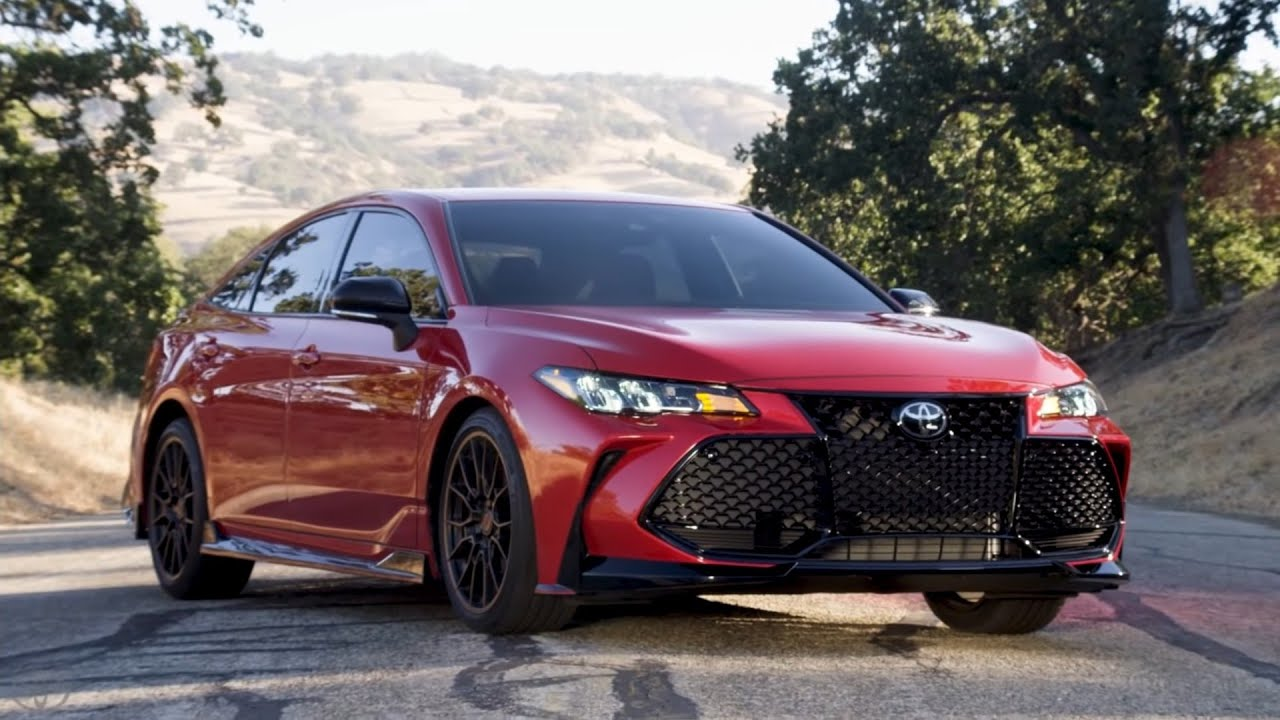 2019 Toyota Camry TRD and Avalon TRD - All You Need to ...
