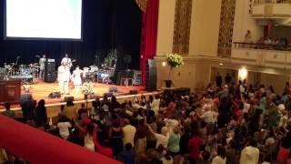 Alvin  Slaughter singing Holy Spirit  Rain Down