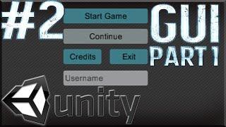 Unity Tutorials #2 - Menu Scene Pt. 1 [GUI]- Button Layout
