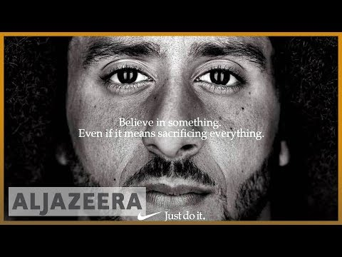 🇺🇸 Colin Kaepernick's Nike campaign faces opposition | Al Jazeeera English