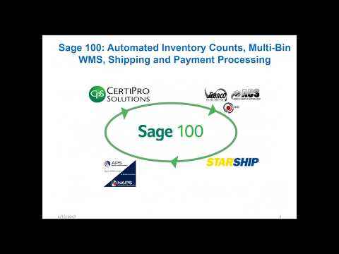 Sage 100 Shipping Software w/ Automated Inventory Counts, Streamlined Pick & Pack