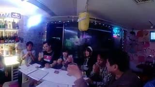 オカオカハウスにて浜田ブリトニーさんの快気祝いを360動画で!