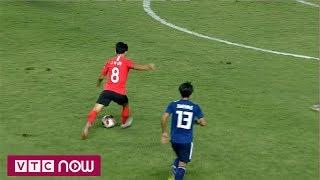 Hết hiệp 1: O. Hàn Quốc 0-0 O. Nhật Bản | VTC Now