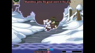 Worms Armageddon - Snow ( Random Gameplay )