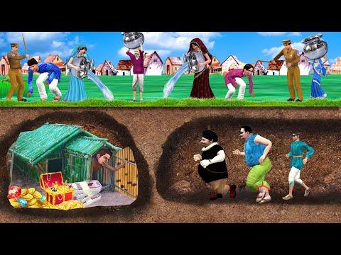 भूमिगत बाँस का घर Underground Bamboo House Stories हिंदी कहानिया Hindi Kahaniya Funny Comedy Video