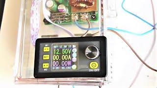 Корпус для DPS5015, быстро и недорого  делаем прозрачный блок питания своими руками