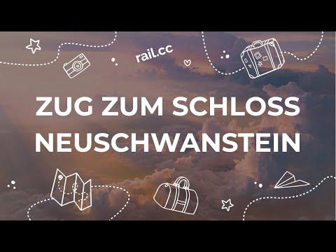 Zum Schloss Neuschwanstein mit dem Zug