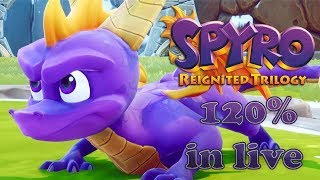 Spyro Reignited Trilogy | Spyro the Dragon | 120% Twitch Livestream on Nintendo Switch - ITA