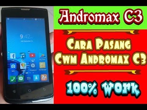 Cara Pasang Cwm di Andromax C3