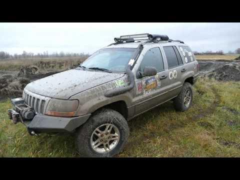 Jeep Grand Cherokee WJ 4,7 V8 по следам ЛуАЗа и Pajero ПОКАТУХА на ТРОИХ Off Road 4x4