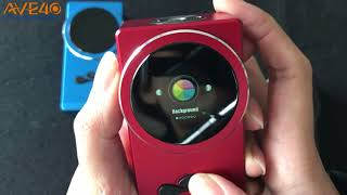 Quick look at the Hugo Vapor DELUX 220W Box Mod