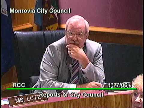 November 7, 2006 | Monrovia, CA | City Council Meeting
