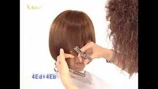 流蘇束感瀏海俏麗短髮女孩,時尚對比髮型教學影片,韋恩智慧型組合剪刀-CTS Hairstyle 05(中文美髮教學)