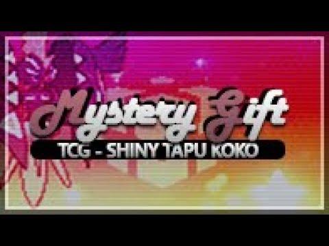 Sun and Moon Mystery Gift: TCG: Shiny Tapu Koko & Megastones (How To Obtain Multiples)
