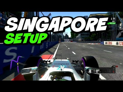 F1 2016 Singapore Hotlap Setup 140045 Youtube