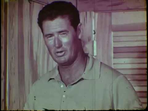 Tarpon Fishing With Ted Williams (1960s)