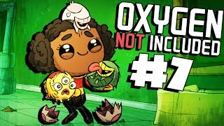 Starting the Farm and More Eggs! - Ep. 7 - Oxygen Not Included Ranching Upgrade Mark II