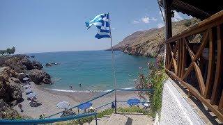 Chora Sfakion, Crete and the Hidden Vrisi Beach Paradise