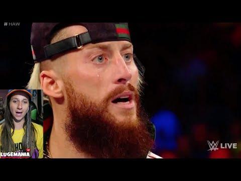 WWE Raw 6/19/17 Big Cass Heel TURN