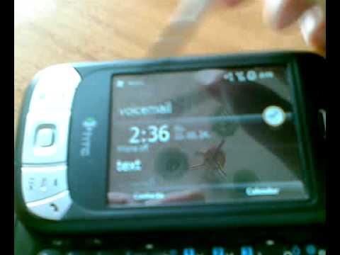 HTC Herald P4350 működése