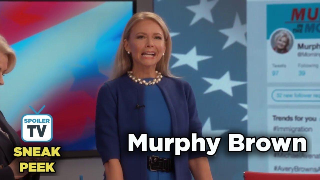 """Download Murphy Brown 11x06 Sneak Peek 1 """"Results May Vary"""""""