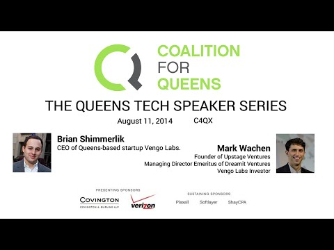 Queens Tech Speaker Series: Brian Shimmerlik & Mark Wachen
