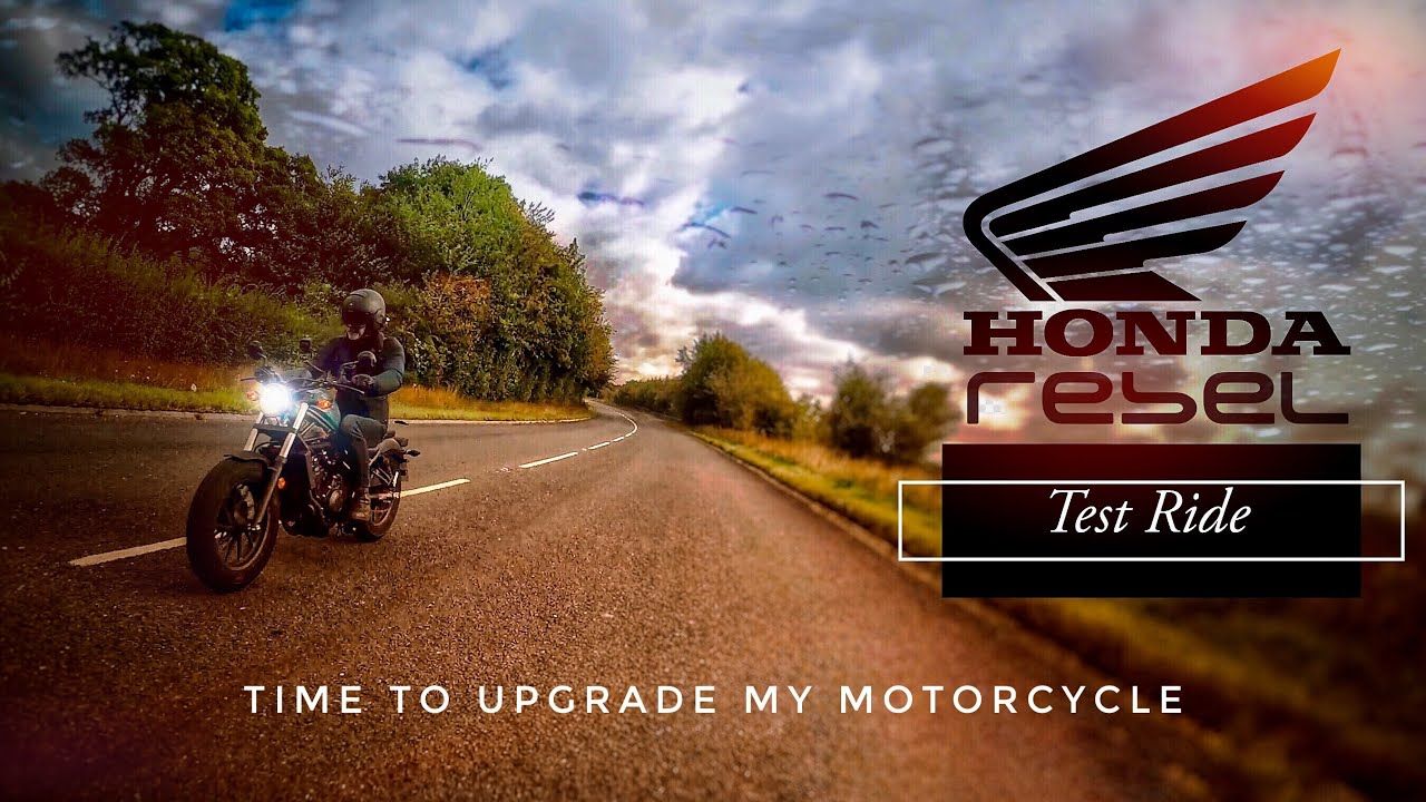 Honda Rebel 500 Test Ride - How does it compare to the Iron 883?