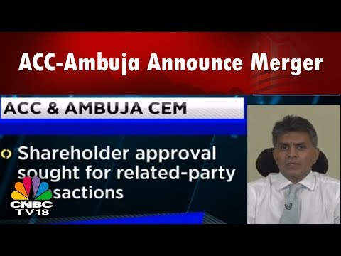 ACC-Ambuja Announce Merger | Expert Sanjay Ladiwala On Pricing & Demand | Bazaar Corporate Radar