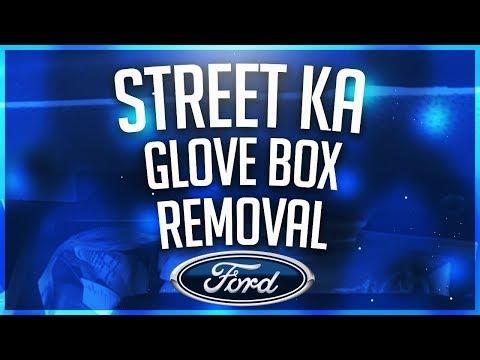 Glove Box Removal - Ford StreetKA