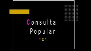 """""""Consulta Popular"""" por el Lic. Christian Flores Garza del INE   #DeLaAalaZ en #CátedraMadero"""