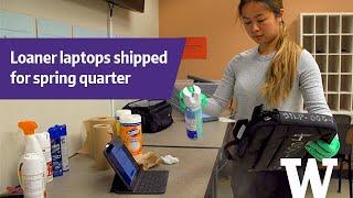 UW student technology program readies laptops and tablets for spring quarter