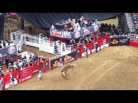 San Antonio Stock Show And Rodeo, Feb. 10, 2018 Bull Riding And Horse Barreling