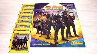 PANINI Мстители: Война бесконечности. Обзор альбома и первые наклейки